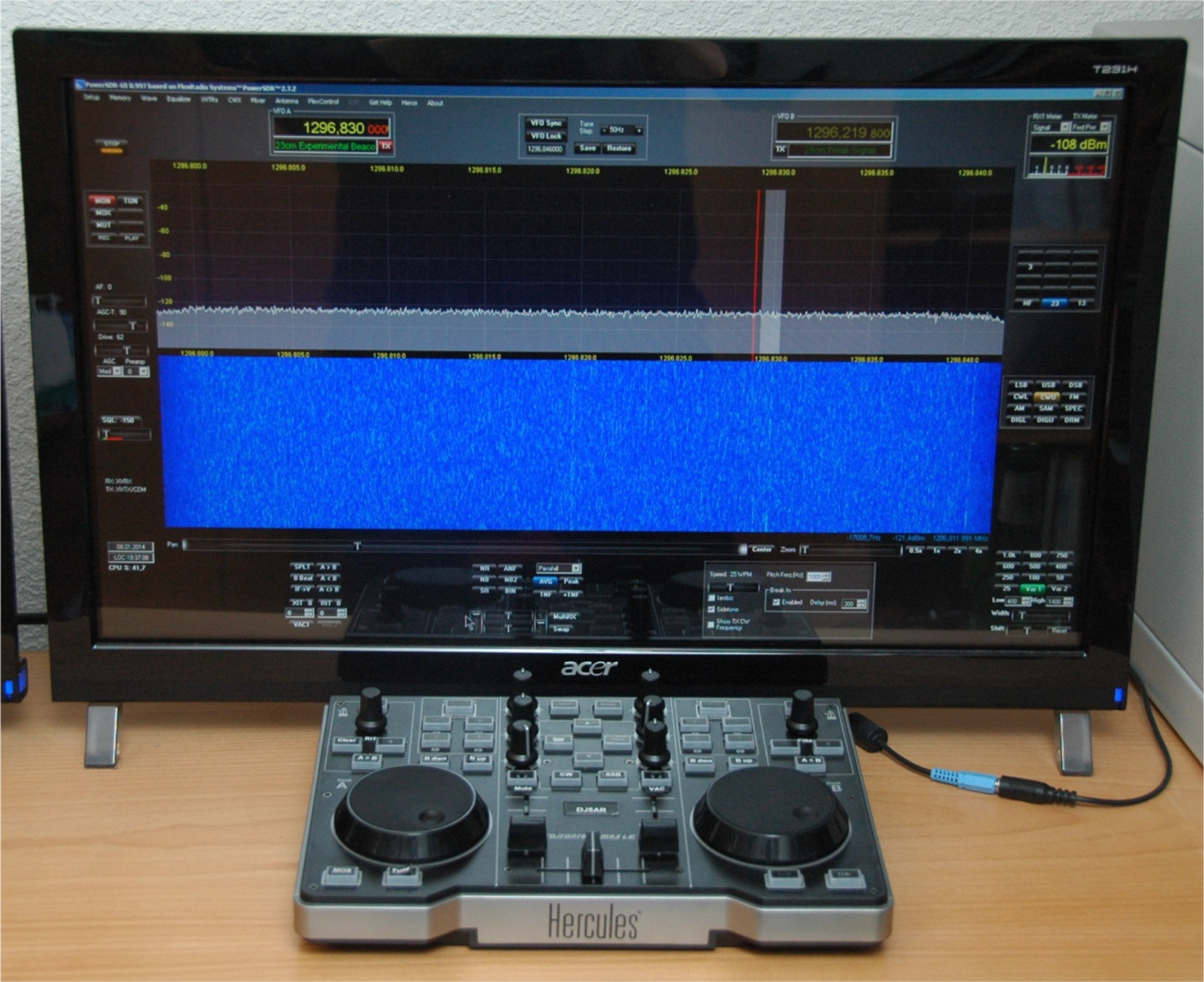 SDR with DJ Console